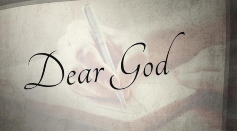 Անկեղծ նամակ Աստծուն